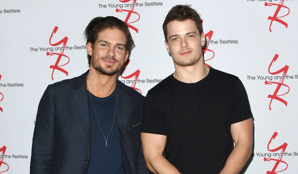 Tyler Johnson Michael Mealor Fan event young and restless