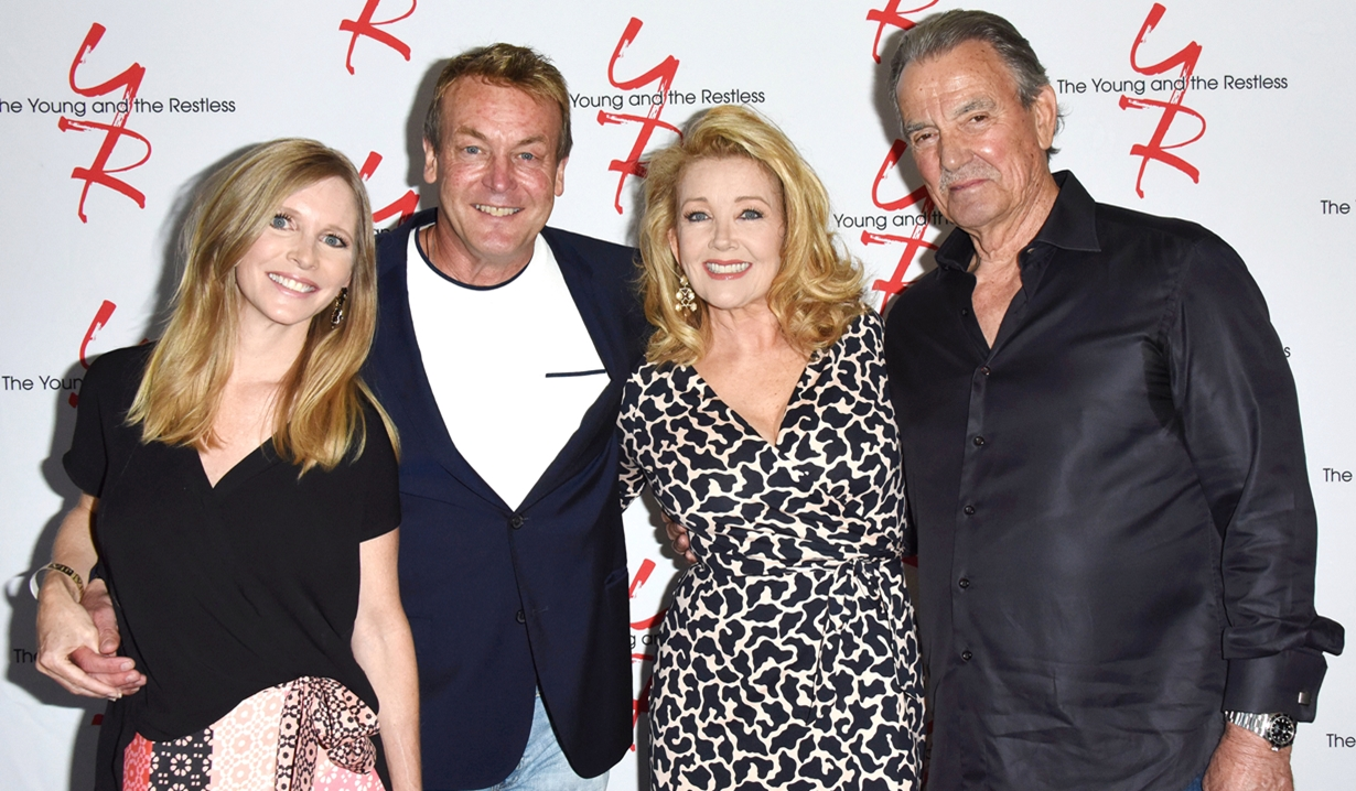 Lauralee Bell, Doug Davidson, Melody Thomas Scott, Eric Braeden Fan event young and restless