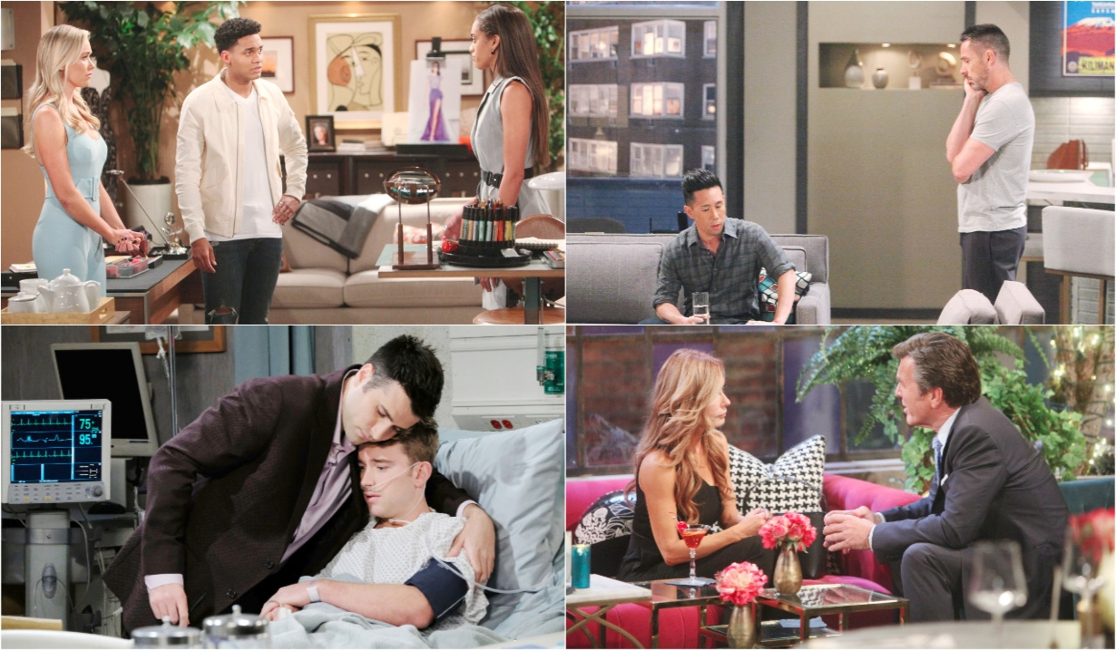 6-10-19 spoilers for bold and beautiful days of our lives general hospital young and restless