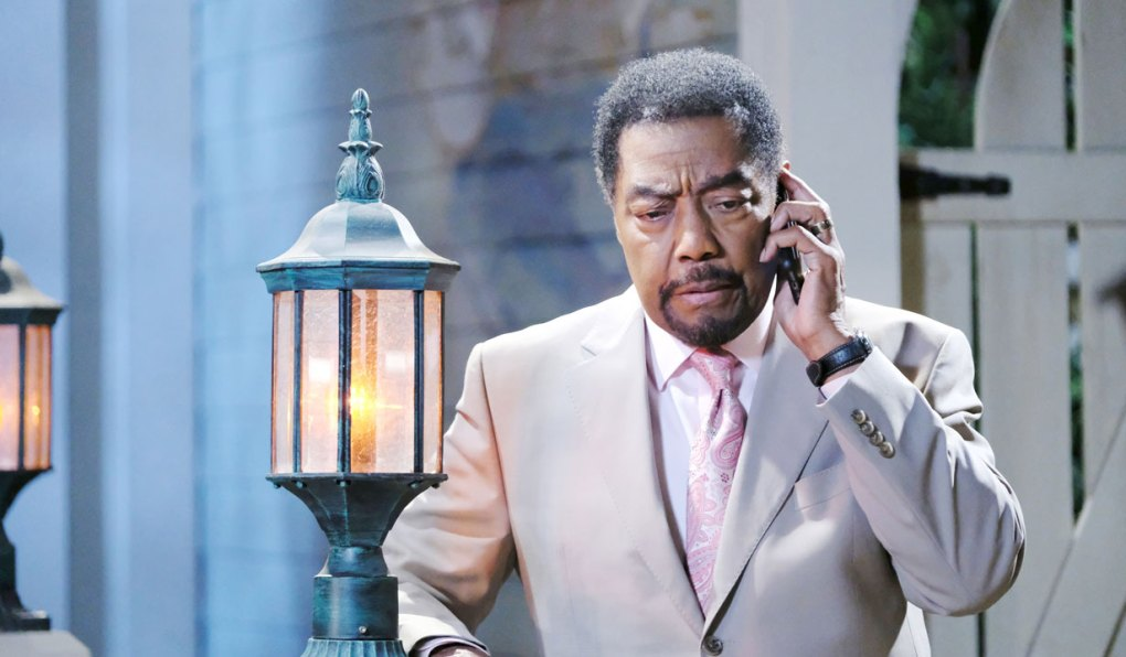 abe does damage control on days of our lives