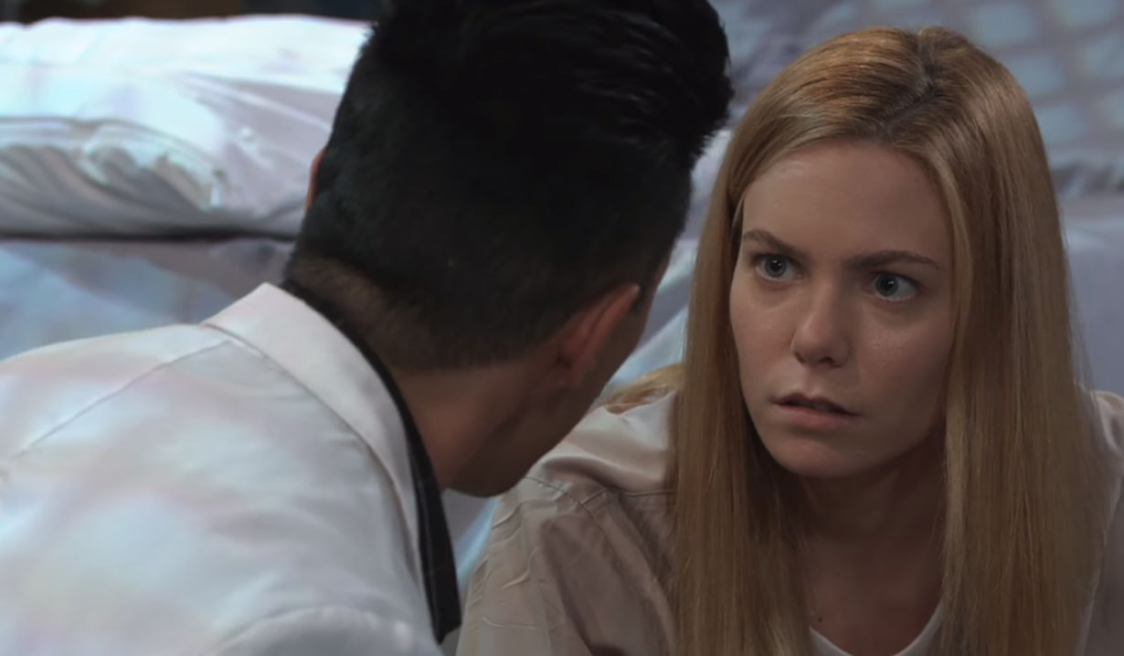 brad tells nelle he's about to lose everything on general hospital