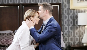 "Arianne Zuker, Eric Martsolf ""Days of our Lives"" Set NBC Studios Burbank 11/12/18 © XJJohnson/jpistudios.com 310-657-9661 Episode # 13608 U.S.Airdate 06/3/19"