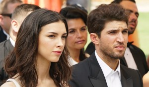 Denyse Tontz and Bryan Craig in Grand Hotel