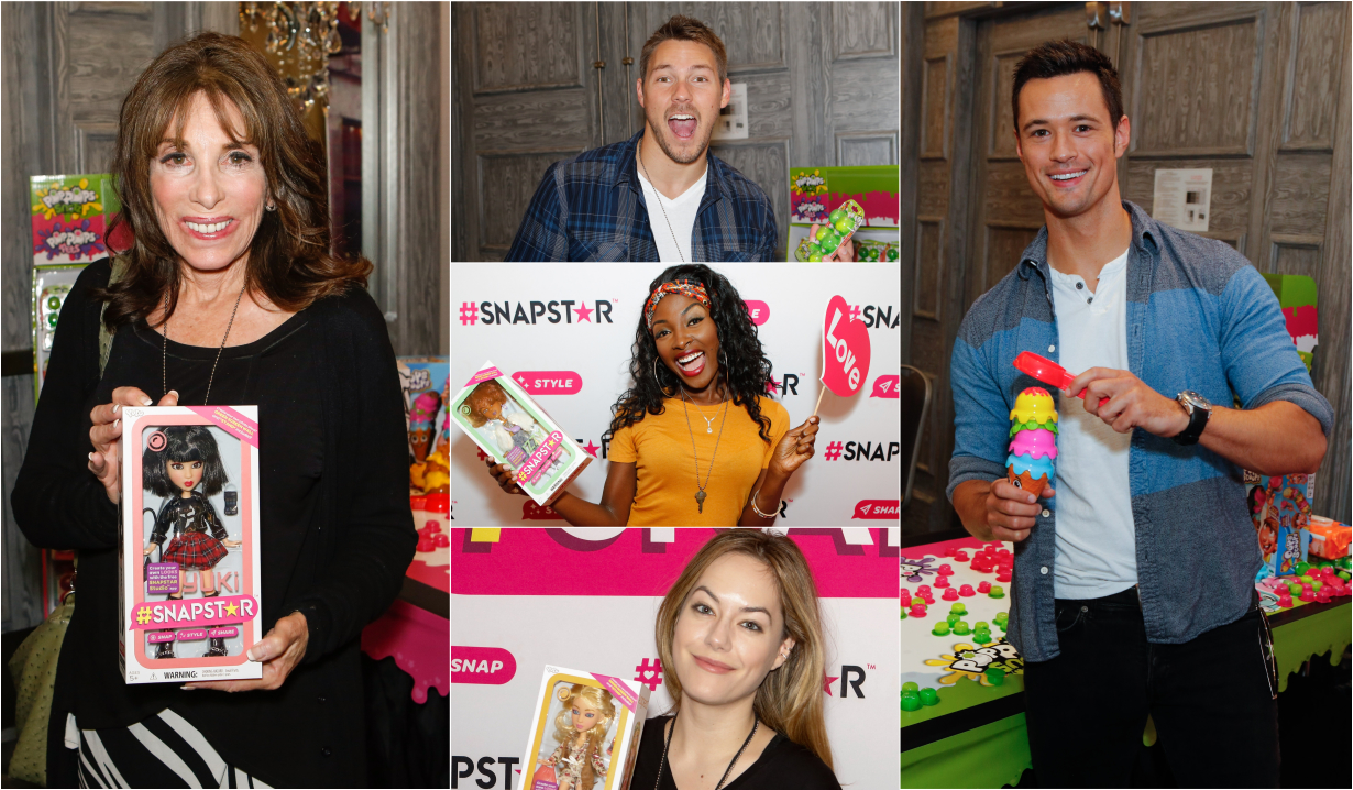 B&B and Y&R stars at the MTV Movie Awards Gift Suite