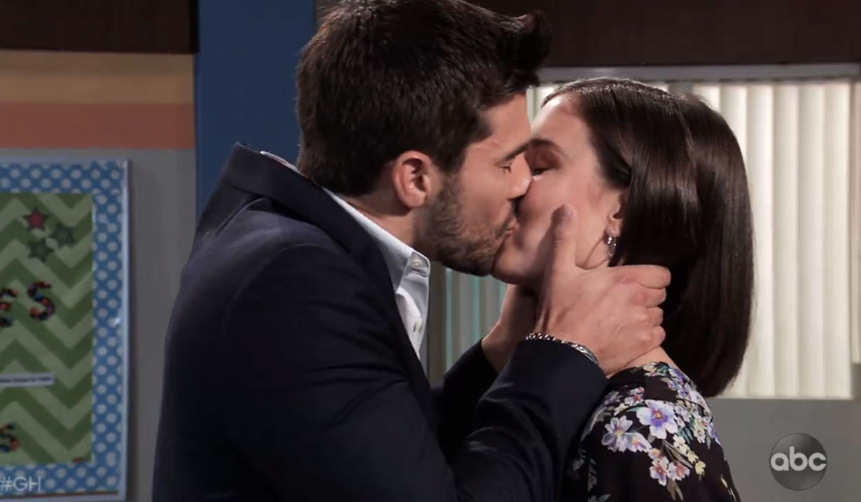 chase kisses willow on general hospital