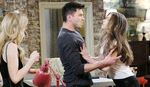 ben and ciara fake fight with claire days of our lives