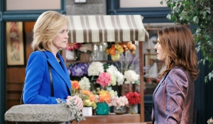 hope runs into eve square days of our lives