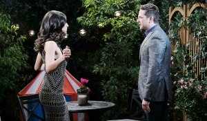 "Camila Banus, Brandon Barash ""Days of our Lives"" Set NBC Studios Burbank 11/12/18 © XJJohnson/jpistudios.com 310-657-9661 Episode # 13608 U.S.Airdate 06/3/19"