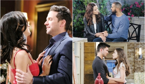 Gabi & Stefan, Lani & Eli, Ciara & Ben on Days of our Lives