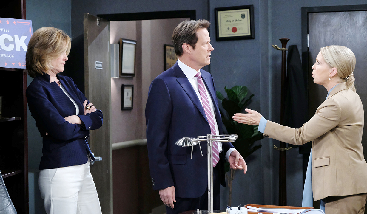 Maggie's Admission and Jennifer and Eve's Argument on Days