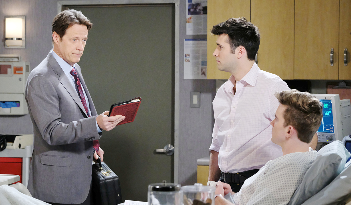 jack sonny and will with rolfs diary days of our lives