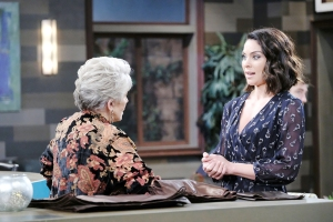 "Susan Seaforth Hayes, Nadia Bjorlin""Days of our Lives"" SetNBC StudiosBurbank11/12/18© XJJohnson/jpistudios.com310-657-9661Episode # 13608U.S.Airdate 06/3/19"