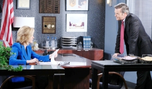 justin eve spd office days of our lives