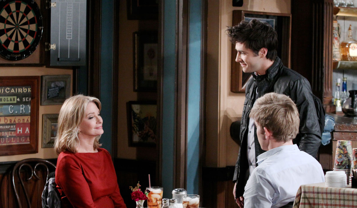 Marlena talks with Will and Sonny on Days