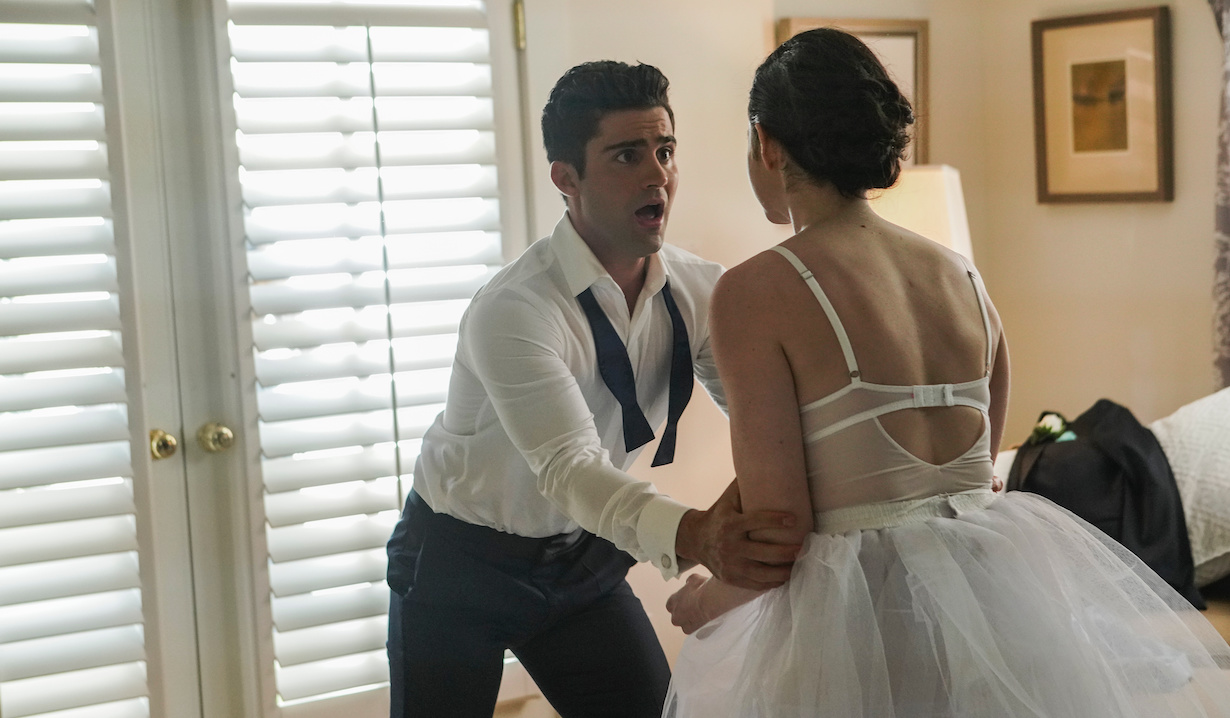 Max Ehrich and Georgia Flood in American Princess