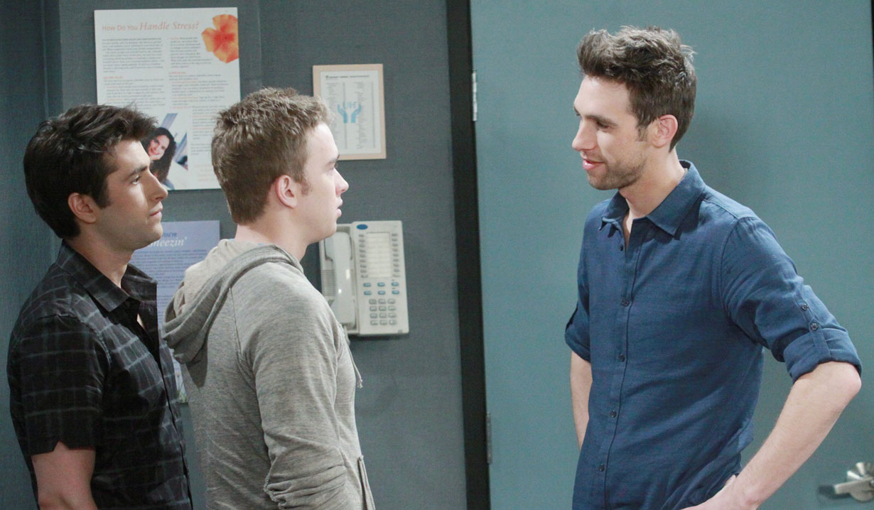 Nick is upset about Sonny and Will on Days