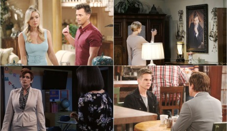 bold and beautiful days of our lives general hospital young and the restless roundup June 17