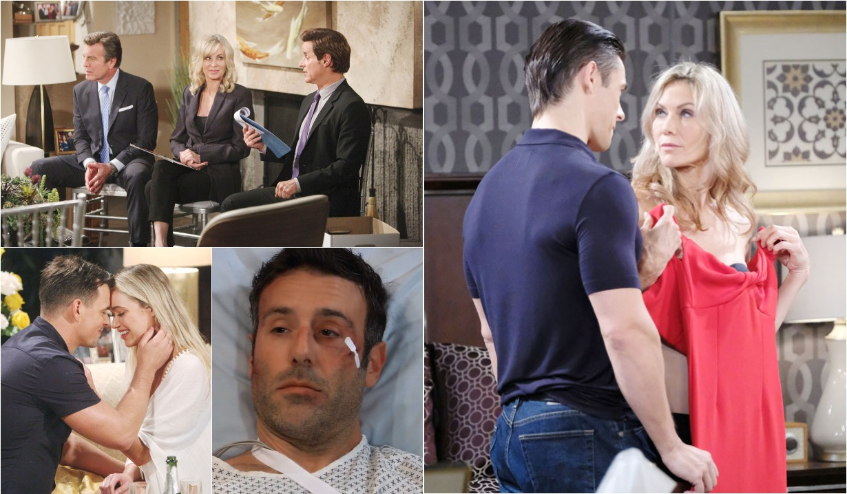 bold and beautiful days of our lives general hospital young and the restless roundup June 3