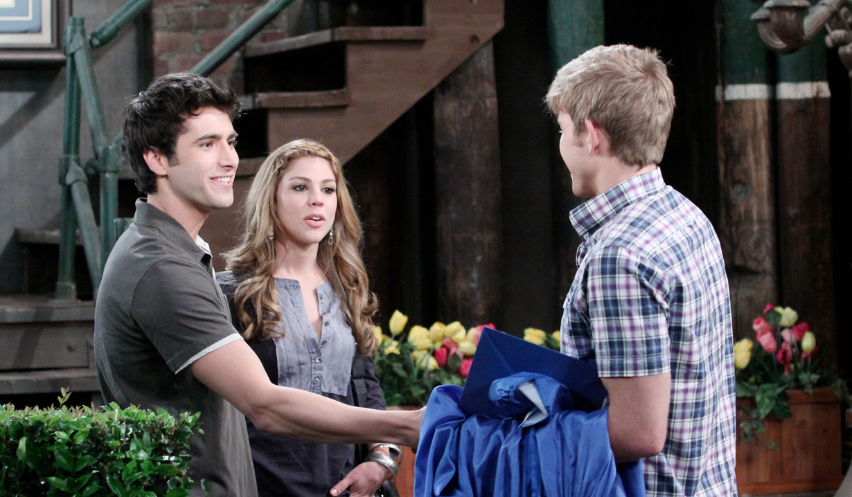 Will and Sonny meet on Days of our Lives