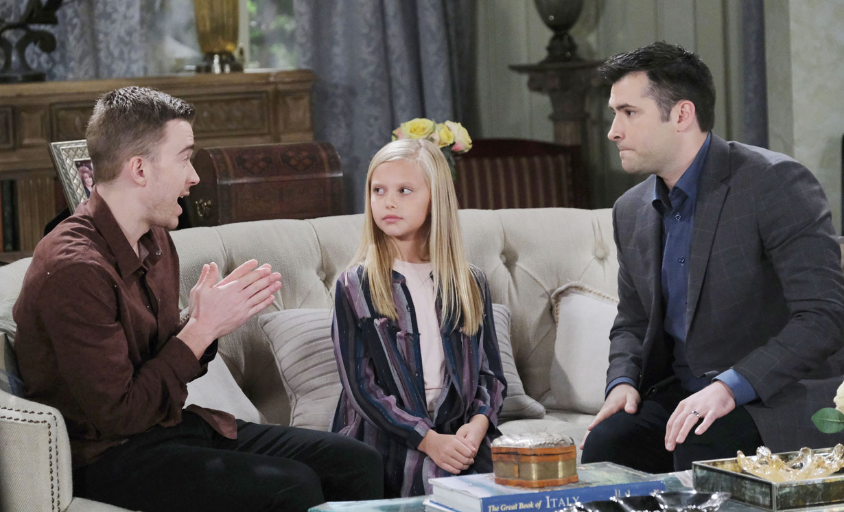 Will and Sonny tell Arianna about their plan