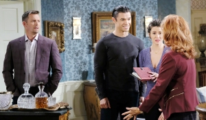 xander gives maggie diary days of our lives