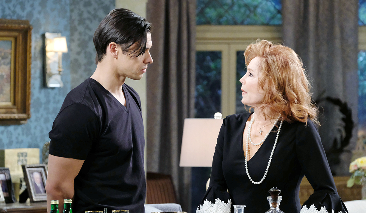 "Suzanne Rogers, Paul Telfer""Days of our Lives"" SetNBC StudiosBurbank11/12/18© XJJohnson/jpistudios.com310-657-9661Episode # 13608U.S.Airdate 06/3/19"