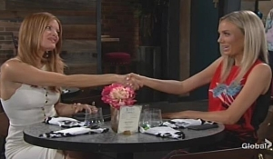 Phyllis and Abby strike a deal Young and Restless