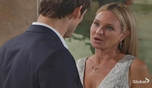 Adam reassures Sharon on Young and Restless