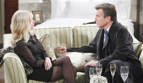 Ashley and Jack on The Young and the Restless