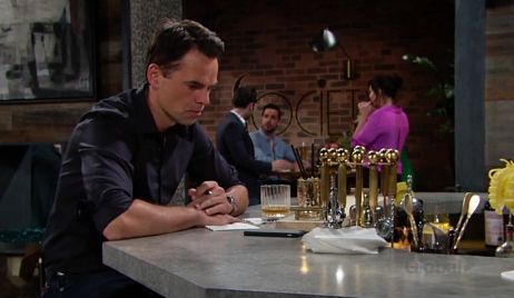 Billy at Society on Young and Restless