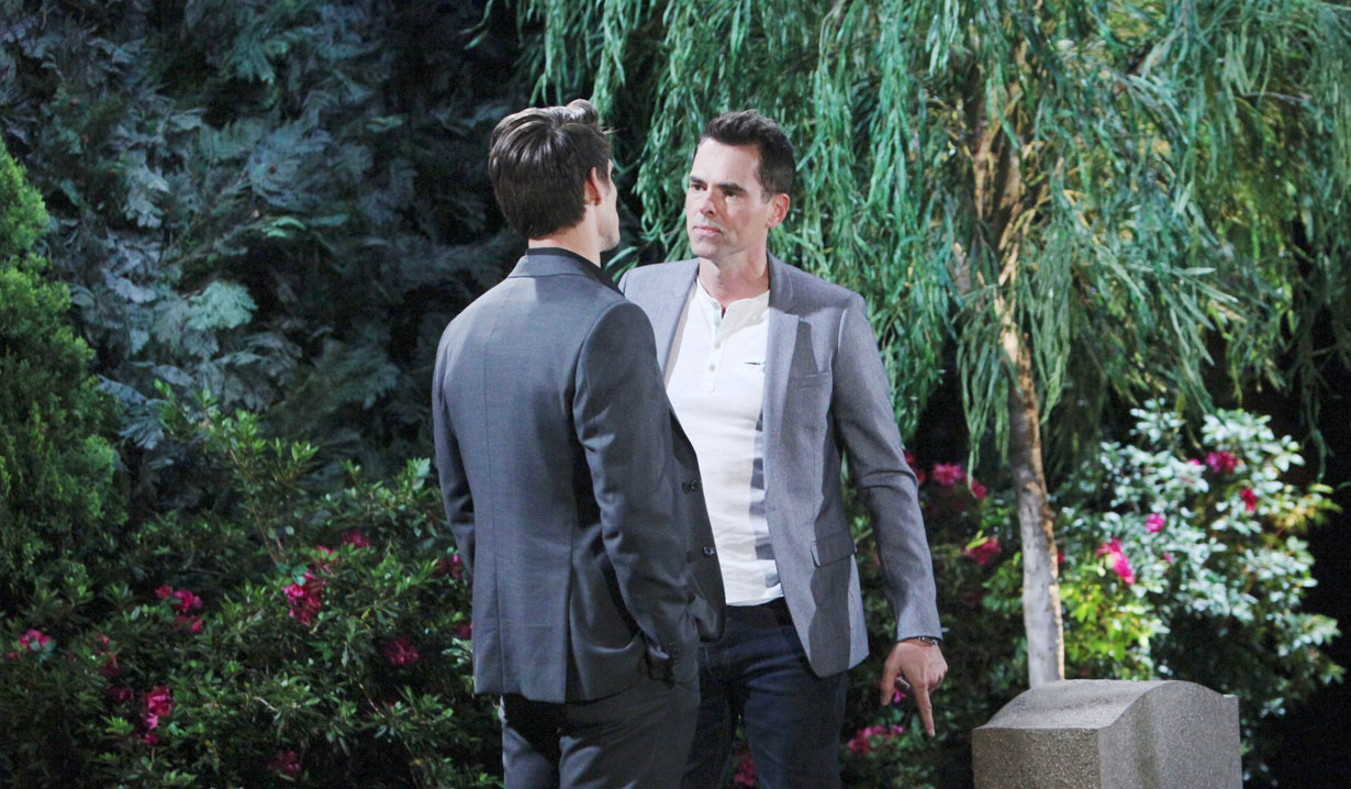 Billy Delia's grave on Young and the Restless