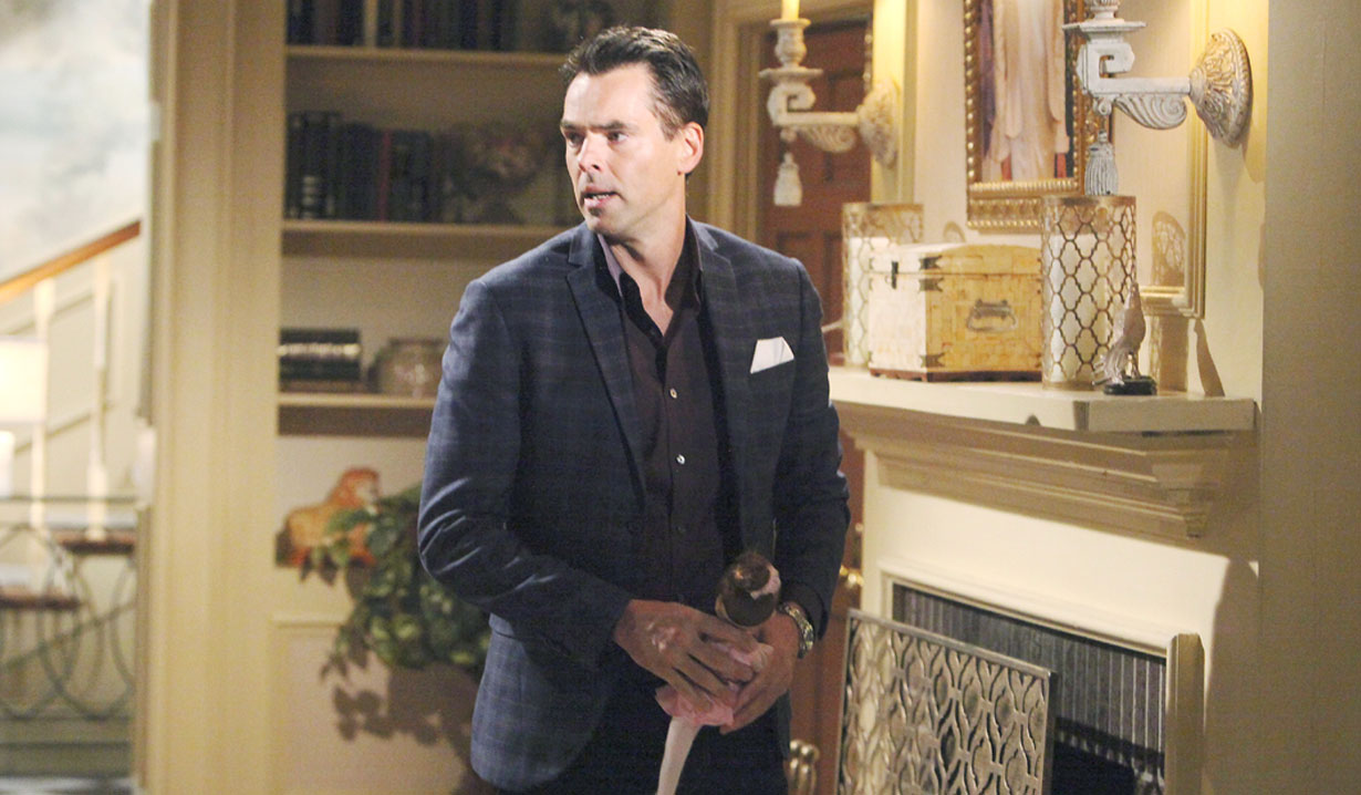 Billy gets a message on The Young and the Restless