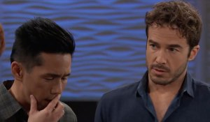 Lucas and Brad get news on General Hospital