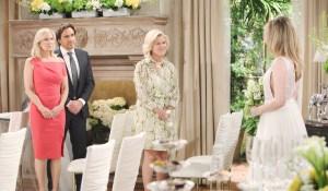 Brooke, Ridge, Pam watch Hope come down aisle wedding Bold and Beautiful
