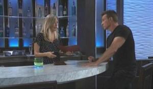 Jason and Carly talk Dev General Hospital