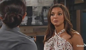 Celeste confronts Lola Young and Restless