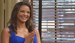 Celeste proud of Lola Young and Restless