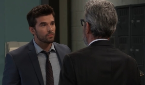 Chase tells Mac Willow is desperate General Hospital