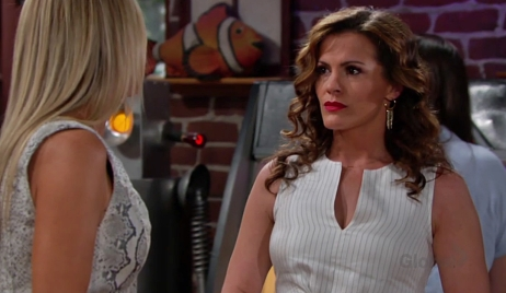 Chelsea faces Sharon Young and Restless