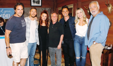 Thorsten Kaye, Scott Clifton, Courtney Hope, Clyde Kaplan, Darin Brooks, Katrina Bowden, John McCook Bold and Beautiful