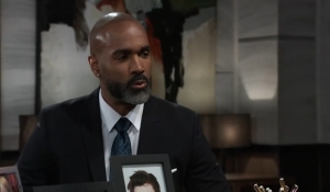 Curtis questions Drew General Hospital
