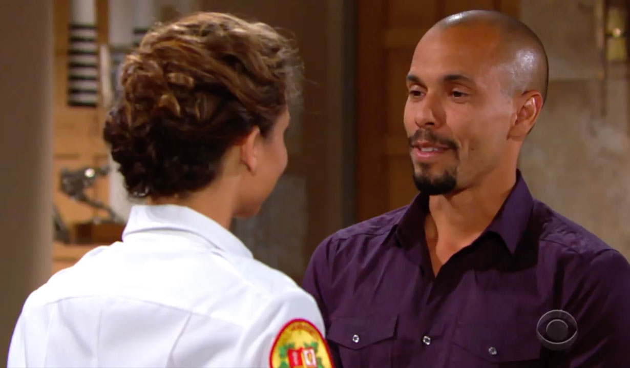 Devon and Elena on Young and the Restless