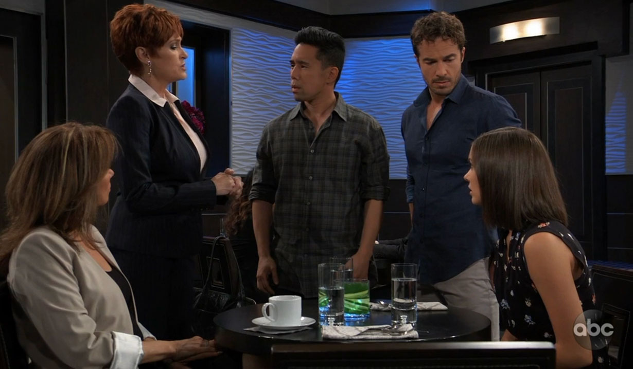 Diane reveals big news on General Hospital