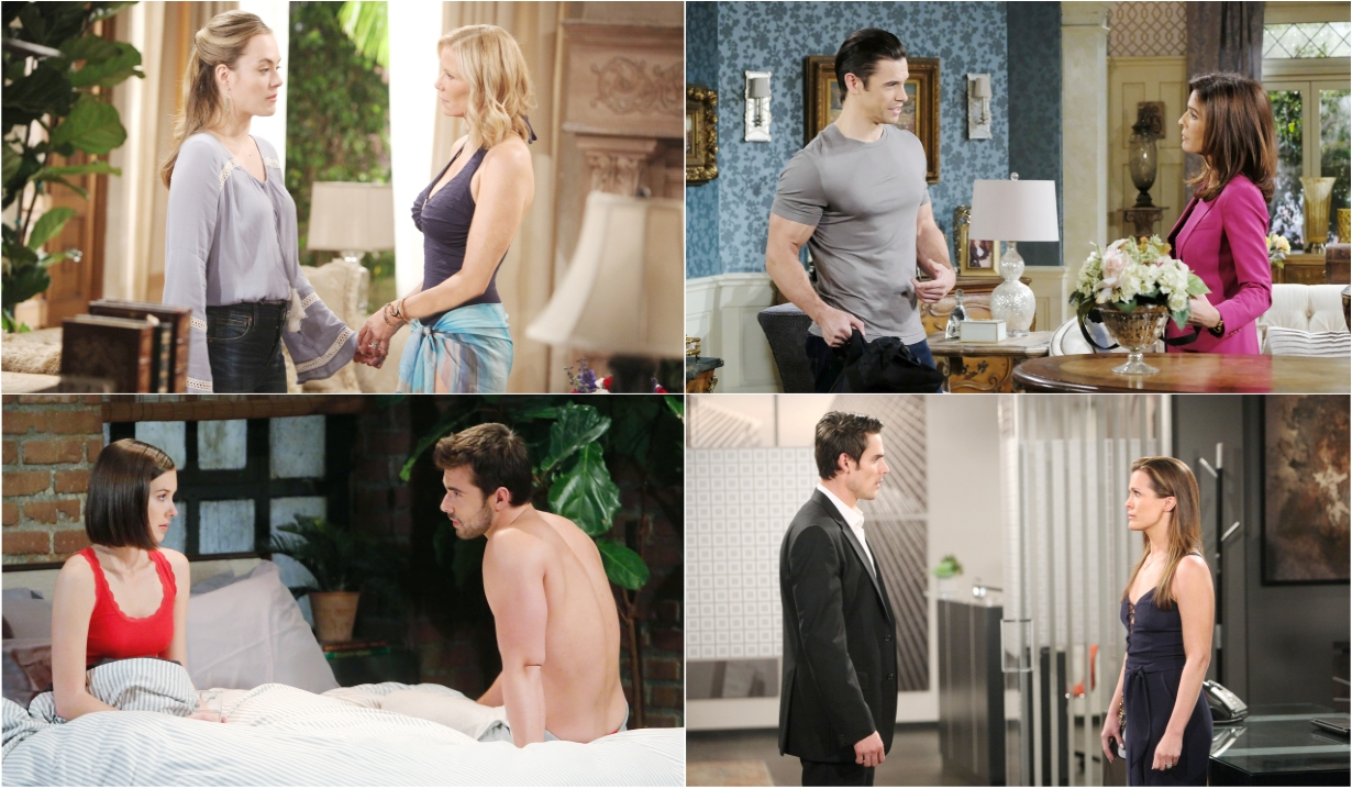 7-08-19 spoilers for bold and beautiful days of our lives general hospital young and restless