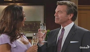 Jack toasts to Celeste Young and Restless