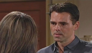Jill questions Billy Young and Restless