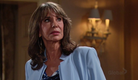 Jill looks at Katherine's portrait Young and Restless