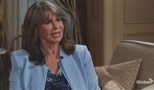 Jill is perplexed by Nick's claim on Young and Restless