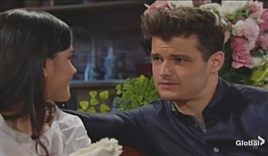 Kyle teases Lola on Young and Restless
