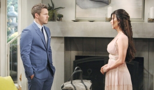 Liam and Steffy await Hope's wedding on Bold and Beautiful
